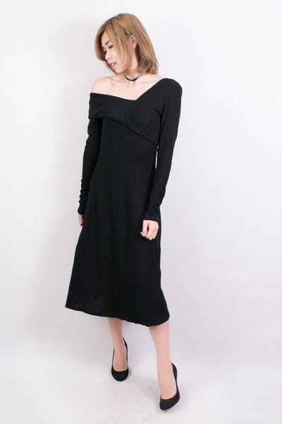Off The Shoulder Knit Dress , dresses - Trinity Styles, Trinity Styles  - 1