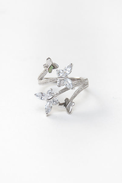 Butterfly Crystal Ring , Accessory - Trinity, Trinity Styles