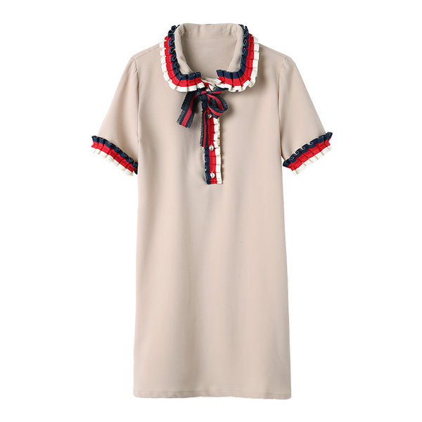 Ribbon Polo Dress