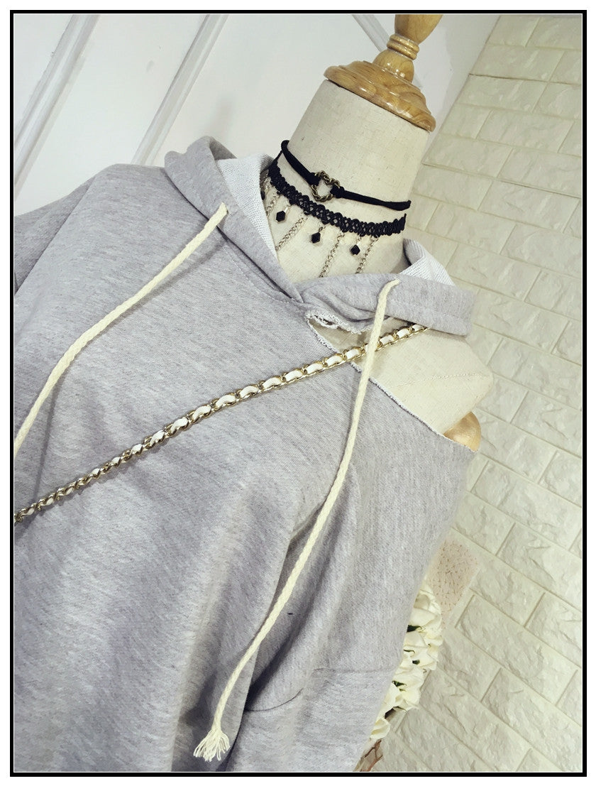 Ripped Hoodie , tops - Trinity Styles, Trinity Styles  - 5