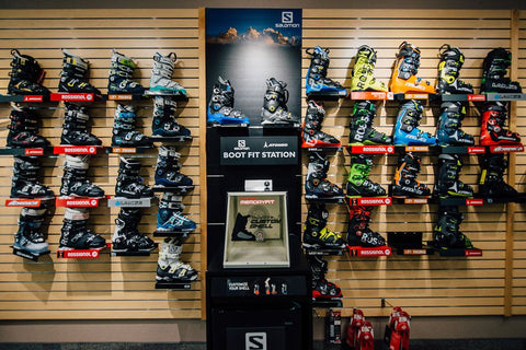 Huge selection of both men's and women's ski boots