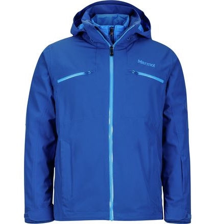 Men's Marmot jacket - Blue