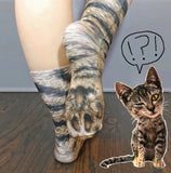 Hyper-Realistic Animal Paw Socks — 30% OFF!