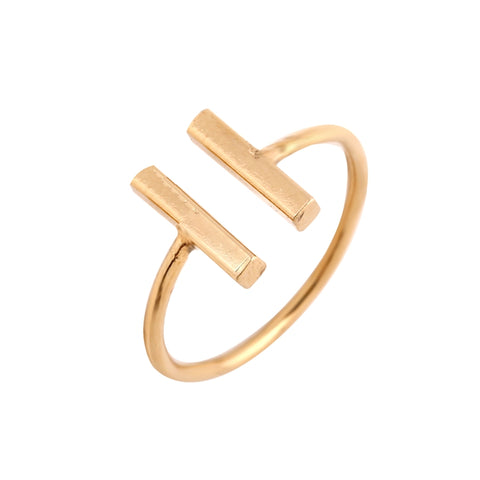 Minimalist Dual Bar Ring