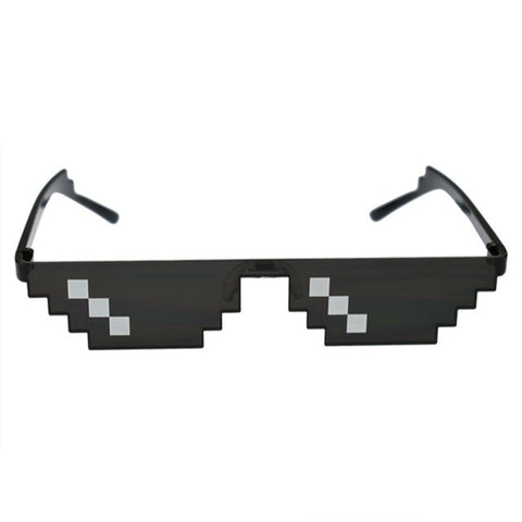 """Deal With It / Thug Life"" 8-bit Meme Sunglasses"