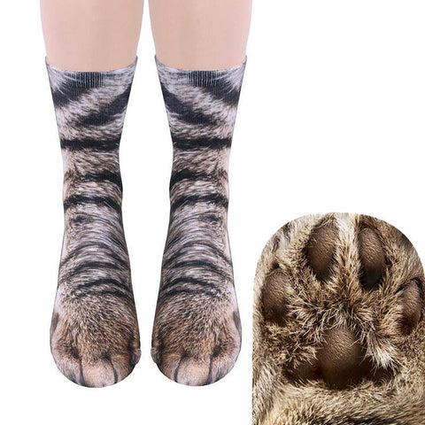 Hyper-Realistic Animal Paw Socks