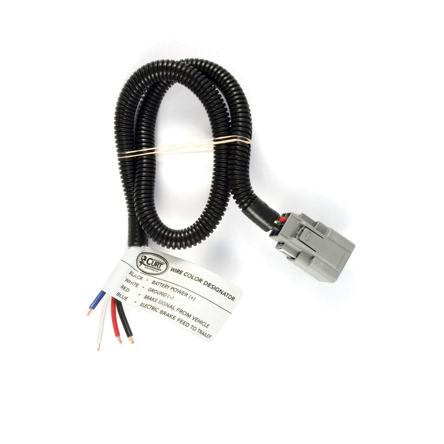 Trailer Brake Controller Harness with Pigtails (Packaged)