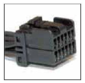 WPT-157 1U2Z-14S411-BMA NEW FORD MOTORCRAFT OEM 17 CAVITY PIN PLUG PINS PIGTAIL WIRING CONNECTOR Radio