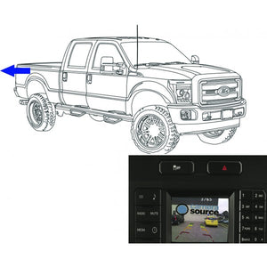 King Series Trucks Parts Accessories, camera source 2017 super duty backup camera for 4 2 myford display