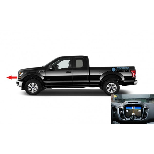 King Series Trucks Parts Accessories, camera source 2018 2019 f150 oe style front camera kit for sync 3