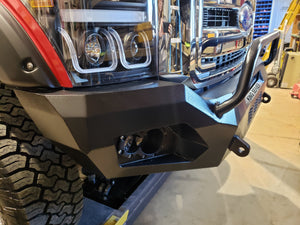 King Series VENOM Custom Front Bumper with Lighting Package, Ford Super Duty 2011-2016, Proudly made in the U.S.A.