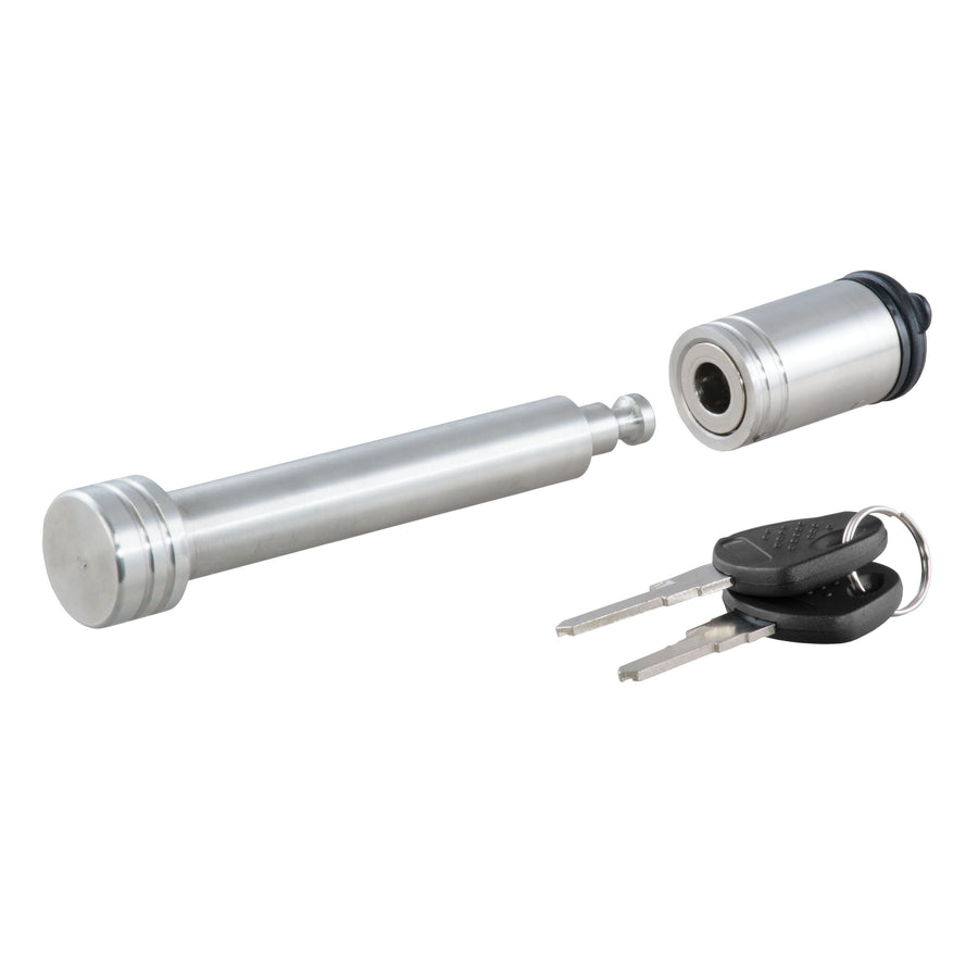 "5/8"" Hitch Lock (2"" or 2-1/2"" Receiver, Barbell, Stainless)"