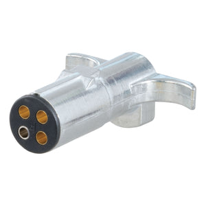 4-Way Round Connector Plug (Trailer Side, Packaged)