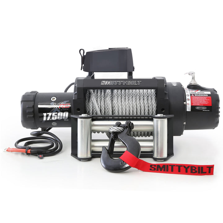 King Series, XRC-17.5K GEN2; Winch, Lifetime Mechanical Warranty, 3 Year Electrical Warranty, 6.6 HP motor, Planetary Gear System