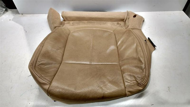 2014 F350SD SEAT, FRONT LEFT FRONT BUCKET SEAT BOTTOM COVER, LEFT FRONT BUCKET SEAT BOTTOM COVER ONLY, ADOBE TAN,47326F801946