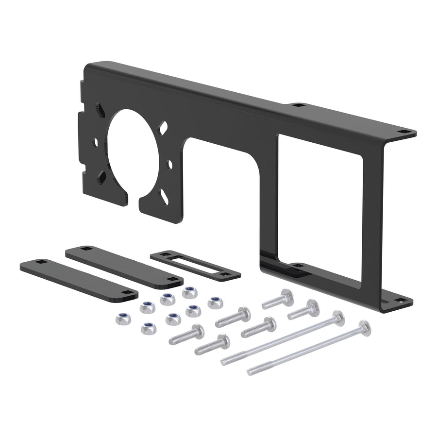 "Easy-Mount Bracket for 4 or 5-Flat & 6 or 7-Round (2-1/2"" Receiver, Packaged)"