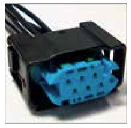 FORD OEM 6 CAVITY PIGTAIL WIRING CONNECTOR 9201-TPW - King Series Trucks, Parts & Accessories