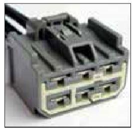 FORD OEM 6 CAVITY PIGTAIL WIRING CONNECTOR 363-TPW - King Series Trucks, Parts & Accessories
