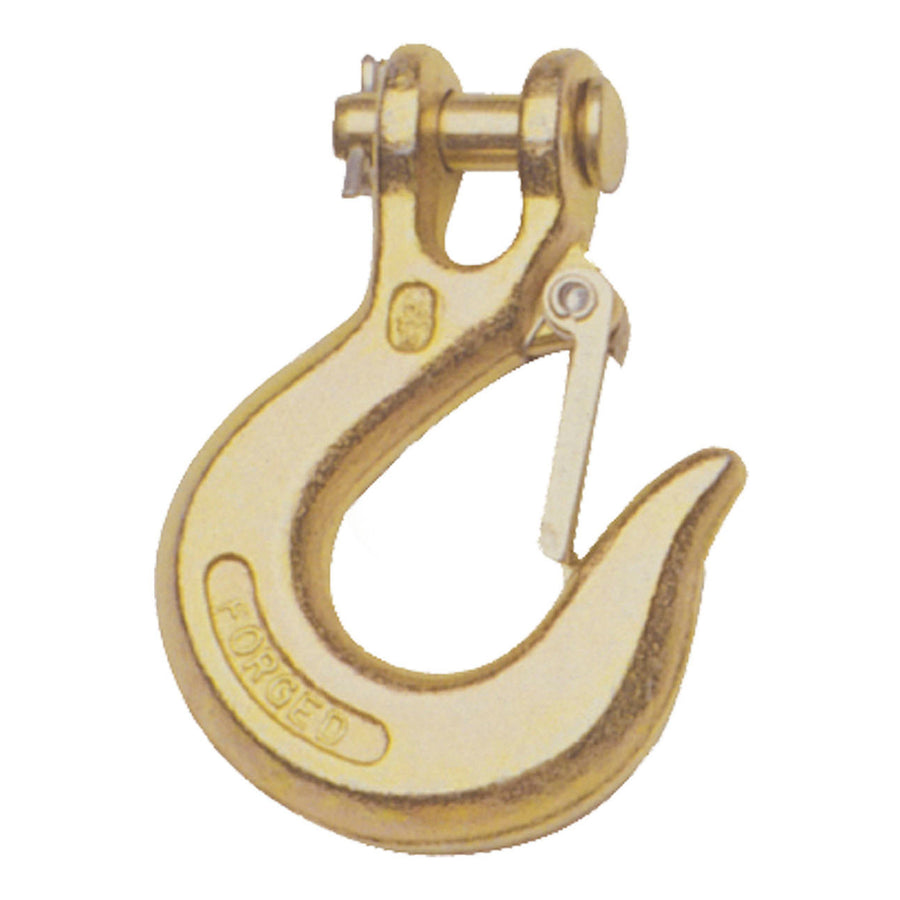 "1/4"" Safety Latch Clevis Hook (7,800 lbs.) - King Series Trucks, Parts & Accessories"