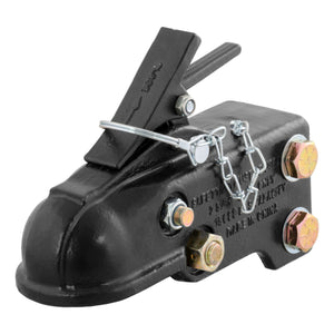 "2-5/16"" Channel-Mount Coupler with Easy-Lock (15,000 lbs., Black)"