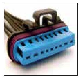 FORD OEM 9 CAVITY PIGTAIL WIRING CONNECTOR 688-TPW - King Series Trucks, Parts & Accessories