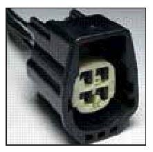 FORD OEM 4 CAVITY PIGTAIL WIRING CONNECTOR 4911-TPW - King Series Trucks, Parts & Accessories