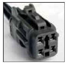 FORD OEM 4 CAVITY PIGTAIL WIRING CONNECTOR 743-TPW - King Series Trucks, Parts & Accessories