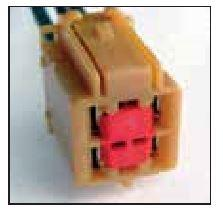 FORD OEM 4 CAVITY PIGTAIL WIRING CONNECTOR 804-TPW - King Series Trucks, Parts & Accessories