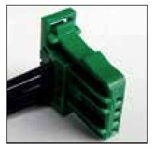 FORD OEM 4 CAVITY PIGTAIL WIRING CONNECTOR 866-TPW - King Series Trucks, Parts & Accessories