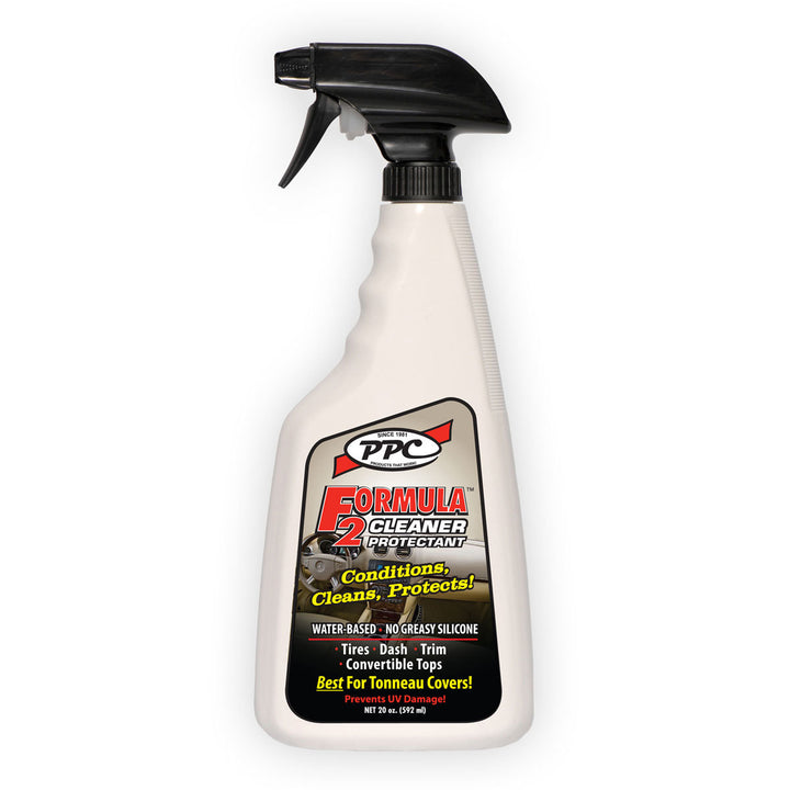 FORMULA 2 Cleaner/Protectant, King Series Trucks Parts Accessories, Does not attract dust, surfaces stay cleaner longer