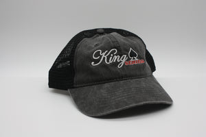 King Series Distressed Grey Cap - King Series Trucks, Parts & Accessories