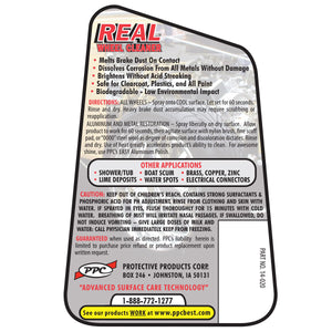 REAL Wheel Cleaner, King Series Trucks Parts Accessories, take care of the problem with virtually no effort, streaks, or stains