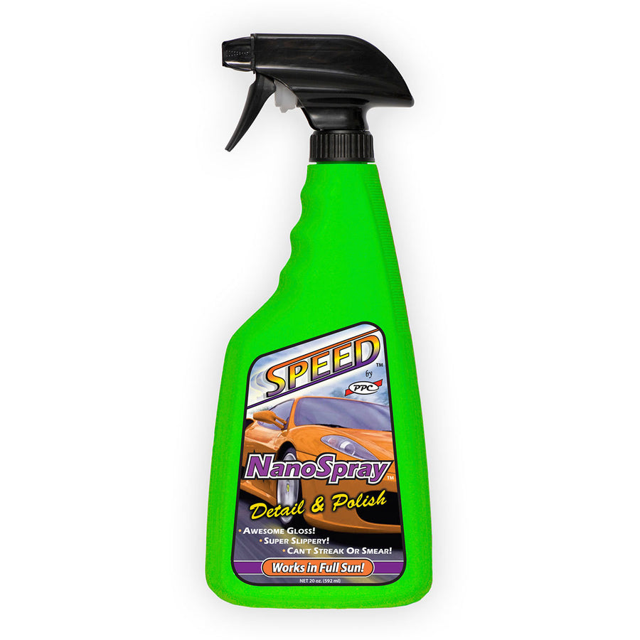 SPEED NanoSpray Detail & Polish, King Series Trucks Parts Accessories, remove bug splatter, road grime, water spots