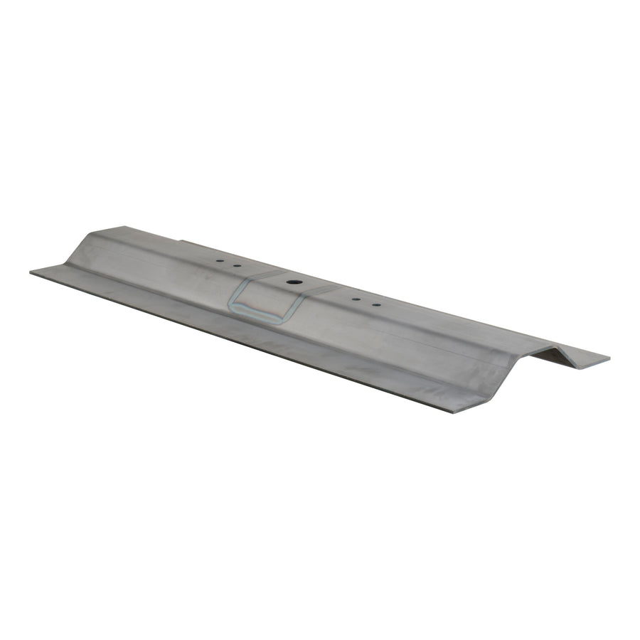 Over-Bed Bent Plate Gooseneck Hitch (Raw Steel, No Ball)