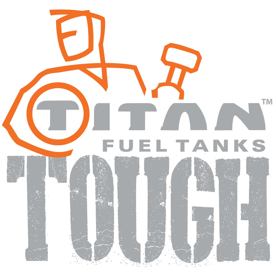 TITAN 60 Gallon Extra Capacity, Extra Heavy Duty, Midship, Replacement Fuel Tank