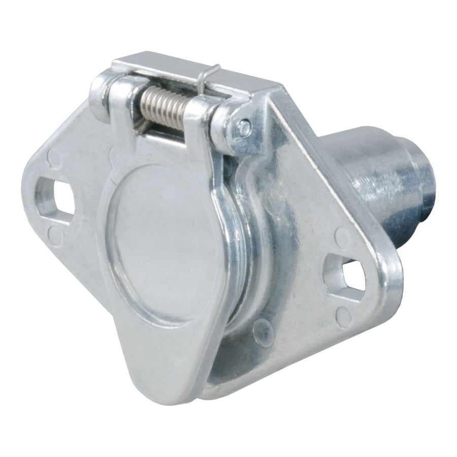 6-Way Round Connector Socket (Vehicle Side, Packaged) - King Series Trucks, Parts & Accessories