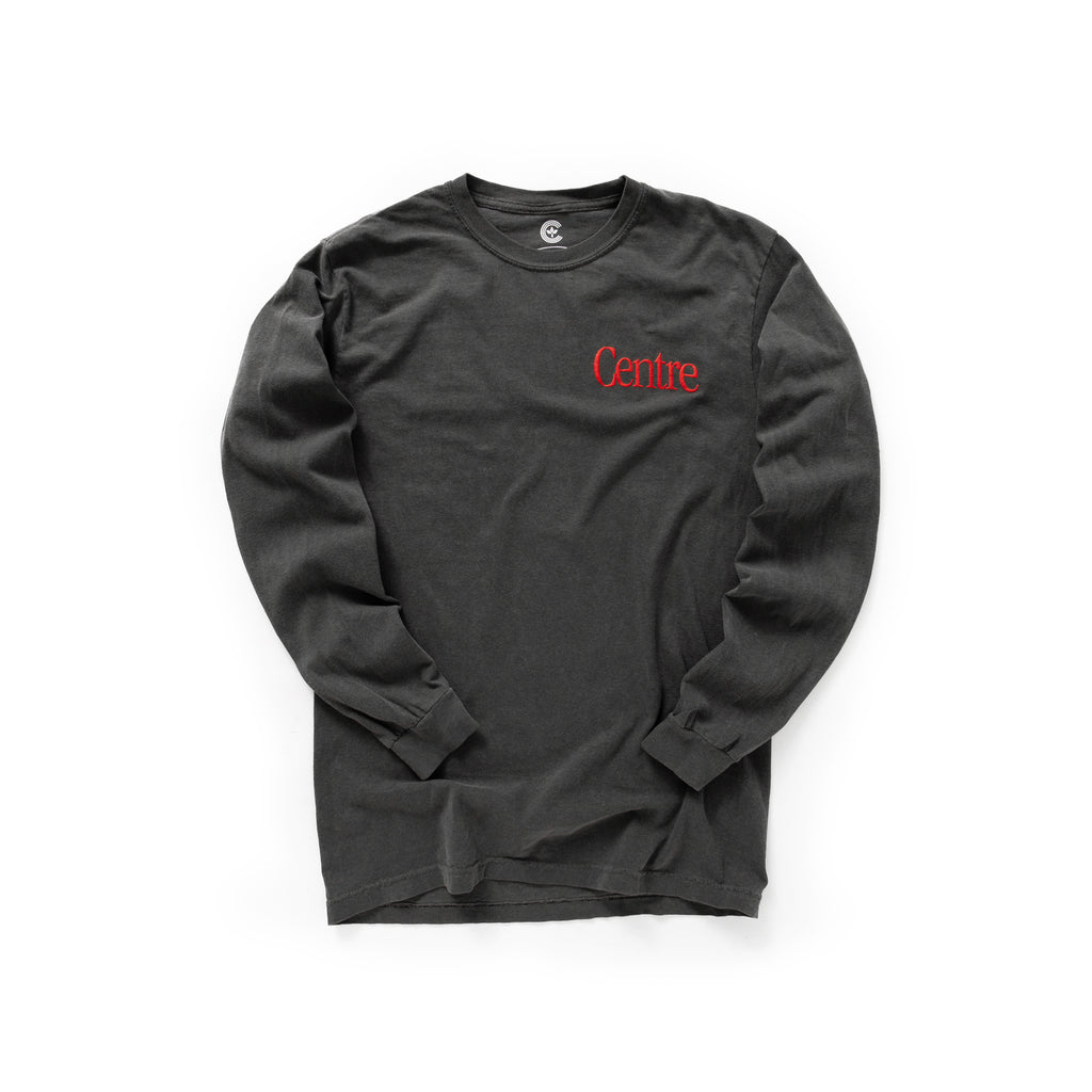 Centre Brick & Horror Long Sleeve Tee 13th Pack (Pepper)