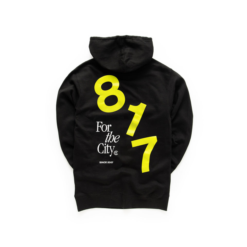 Centre For The City Fort Worth Hoodie (Black) - Centre - Hoodies and Sweatshirts