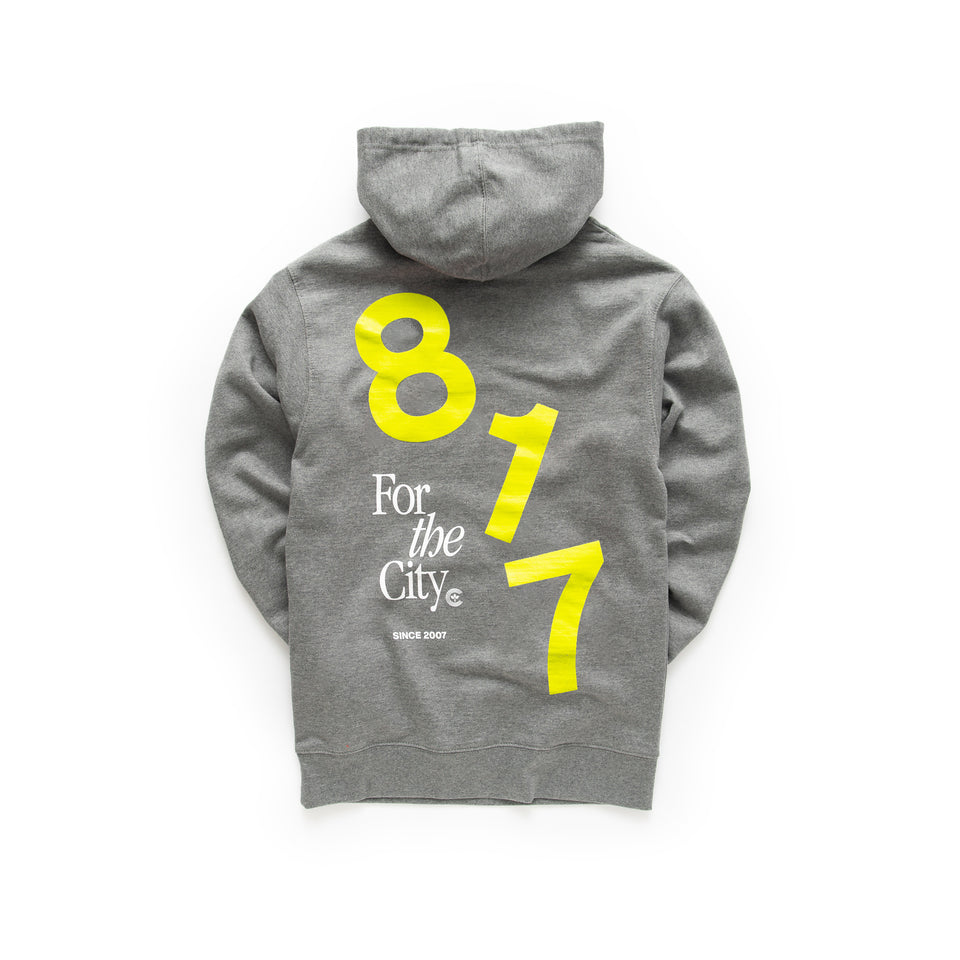 Centre For The City Fort Worth Hoodie (Gunmetal) - Men's - Hoodies & Sweatshirts