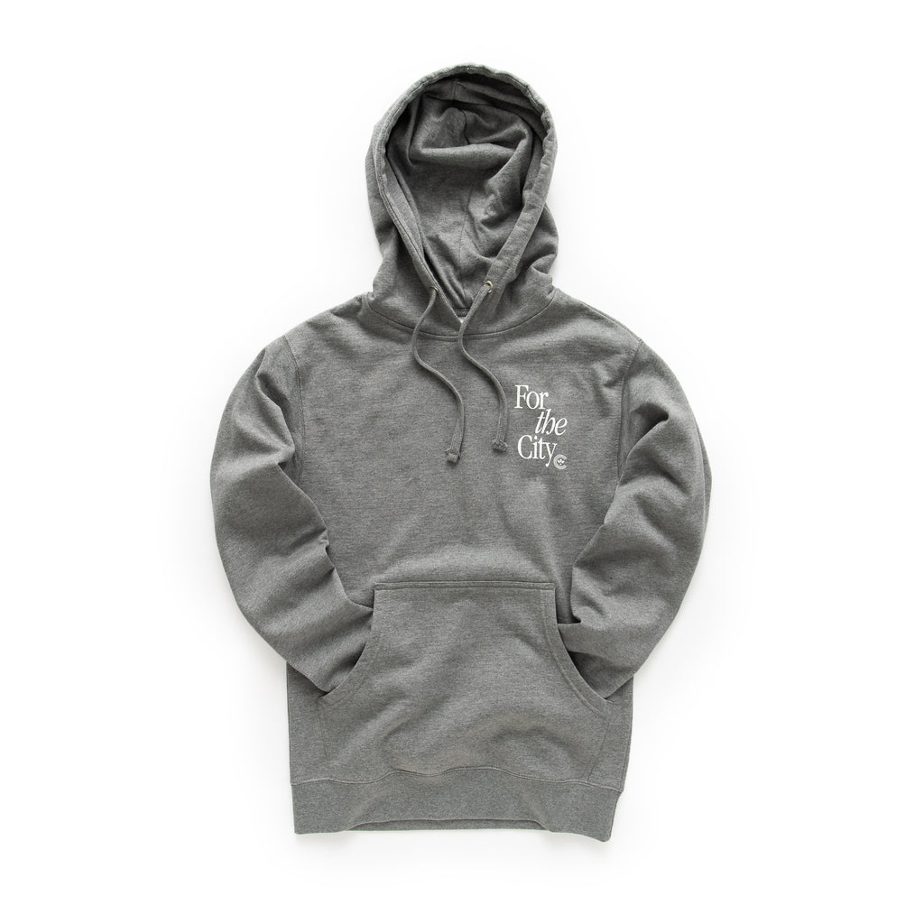 Centre For The City Fort Worth Hoodie (Gunmetal)