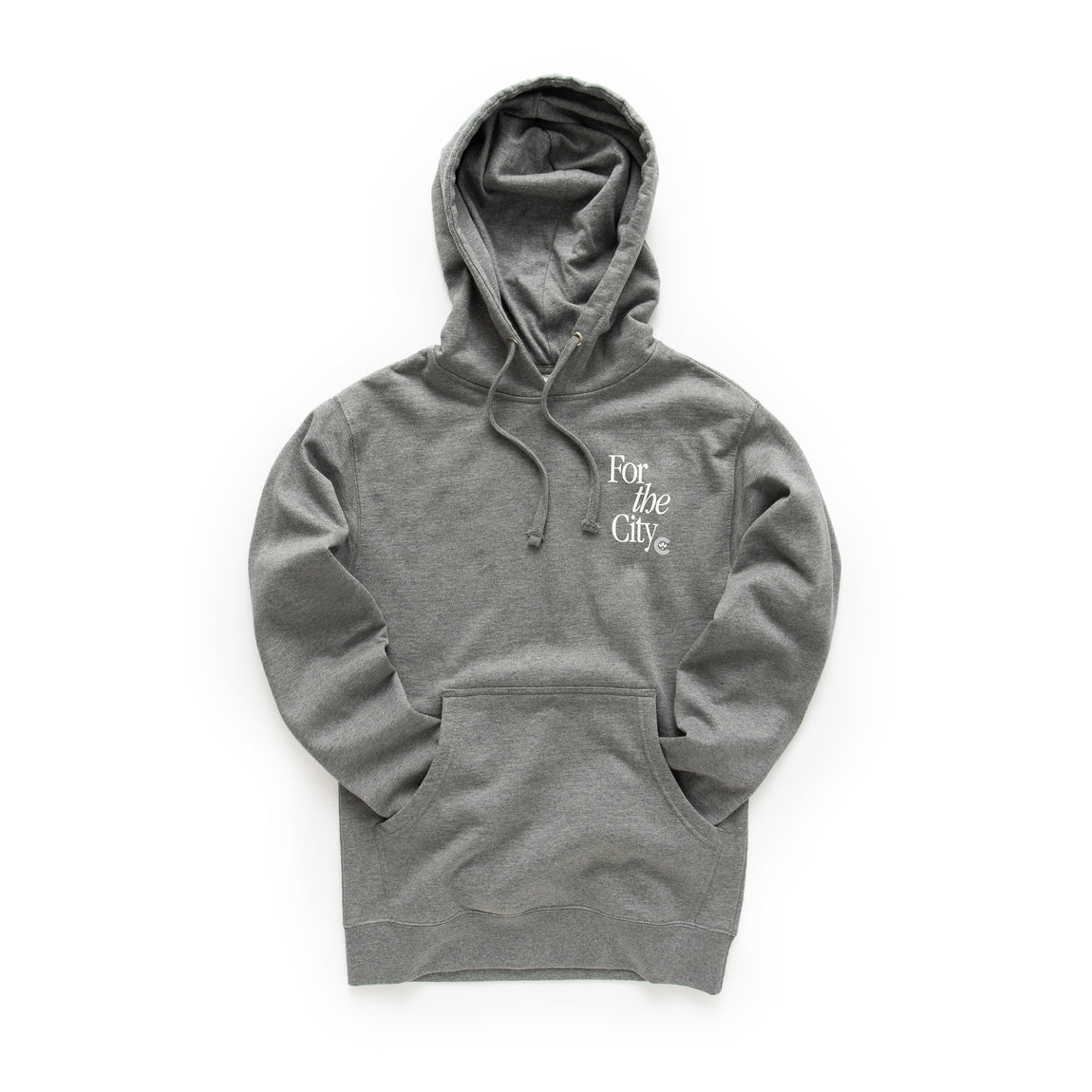 Centre For The City Fort Worth Hoodie (Gunmetal) - Centre For The City Fort Worth Hoodie (Gunmetal) -