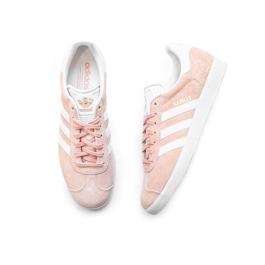 Adidas Gazelle (Vapor Pink/White/Gold Metallic)