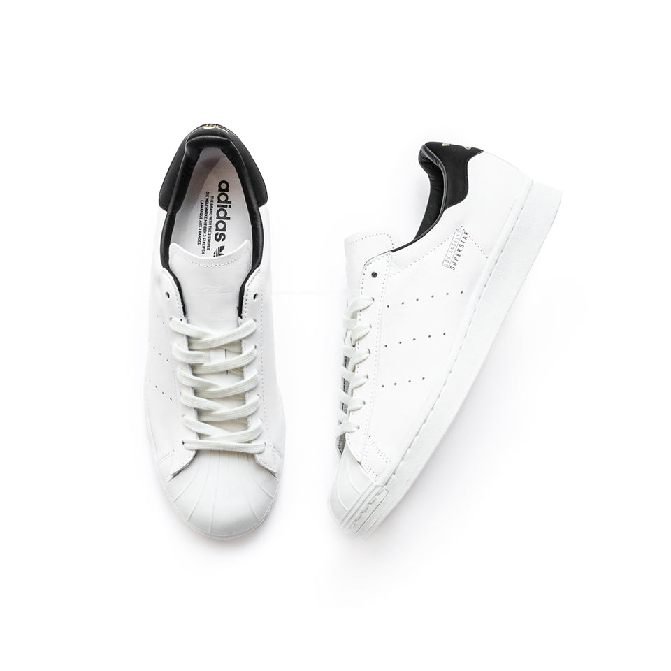 Adidas Superstar Pure LA (White/Black/Metallic Gold) - Adidas