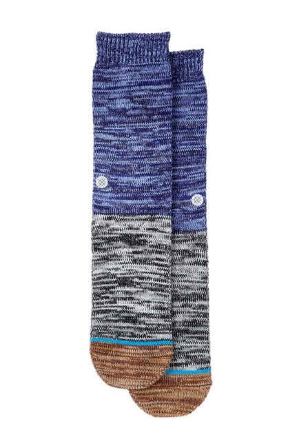 Stance Arica Socks (Blue/Brown/Grey)