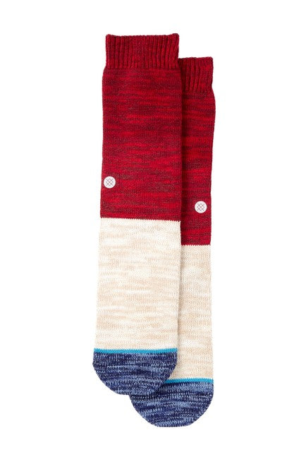 Stance Arica Socks (Red/Blue/Cream)