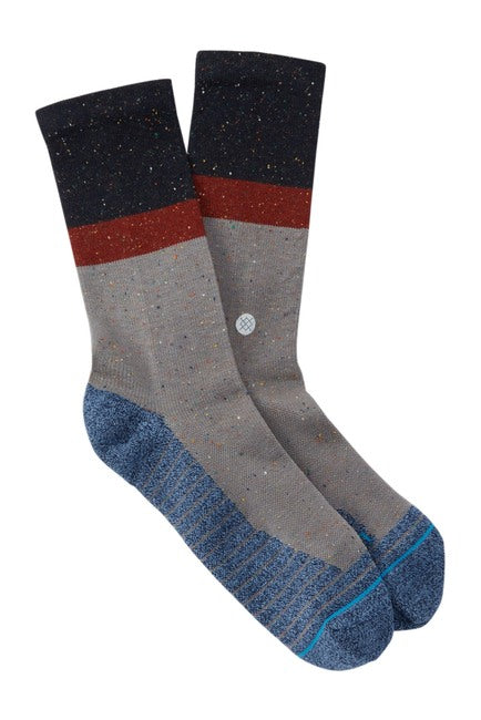 Stance Atacama Crew Socks (Navy/Grey/Blue)