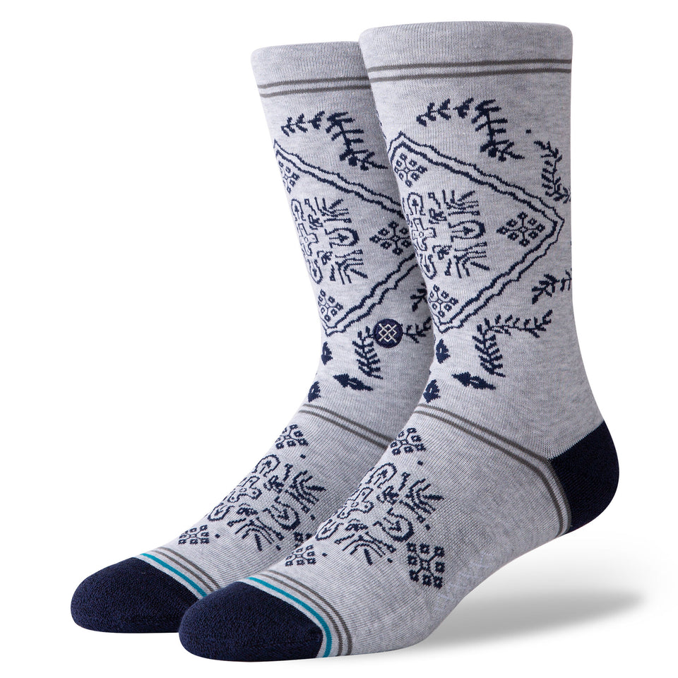 Stance Bandero Socks (Grey) - Accessories - Socks