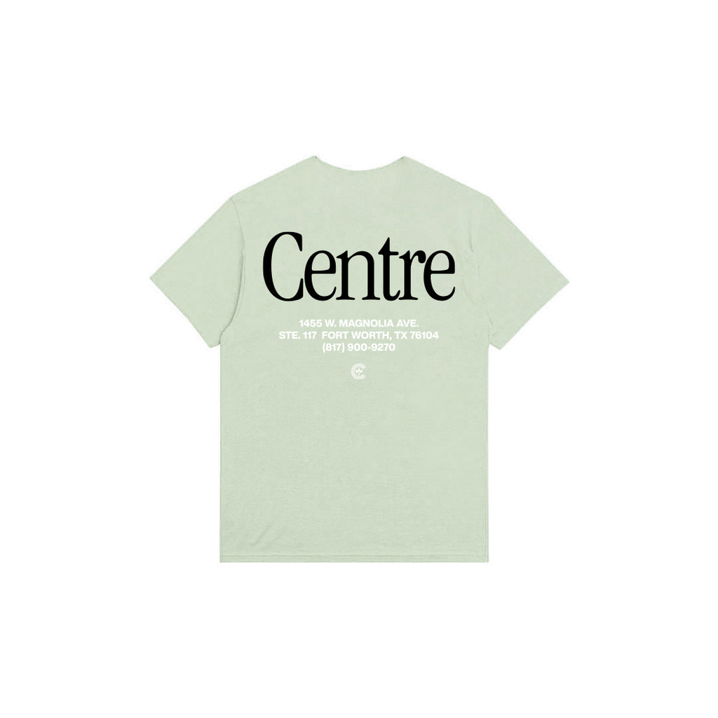 Centre Fort Worth Brick & Mortar Tee (Bay/Black)