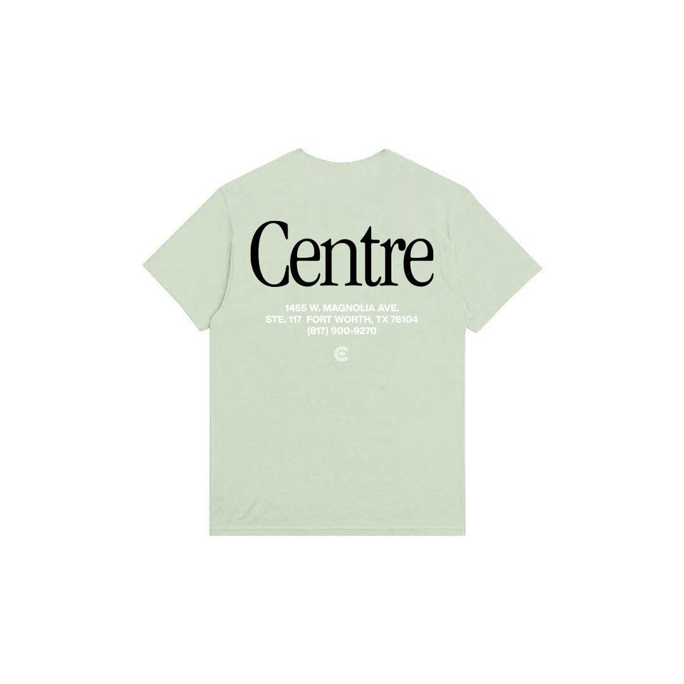 Centre Fort Worth Brick & Mortar Tee (Bay/Black) - Women