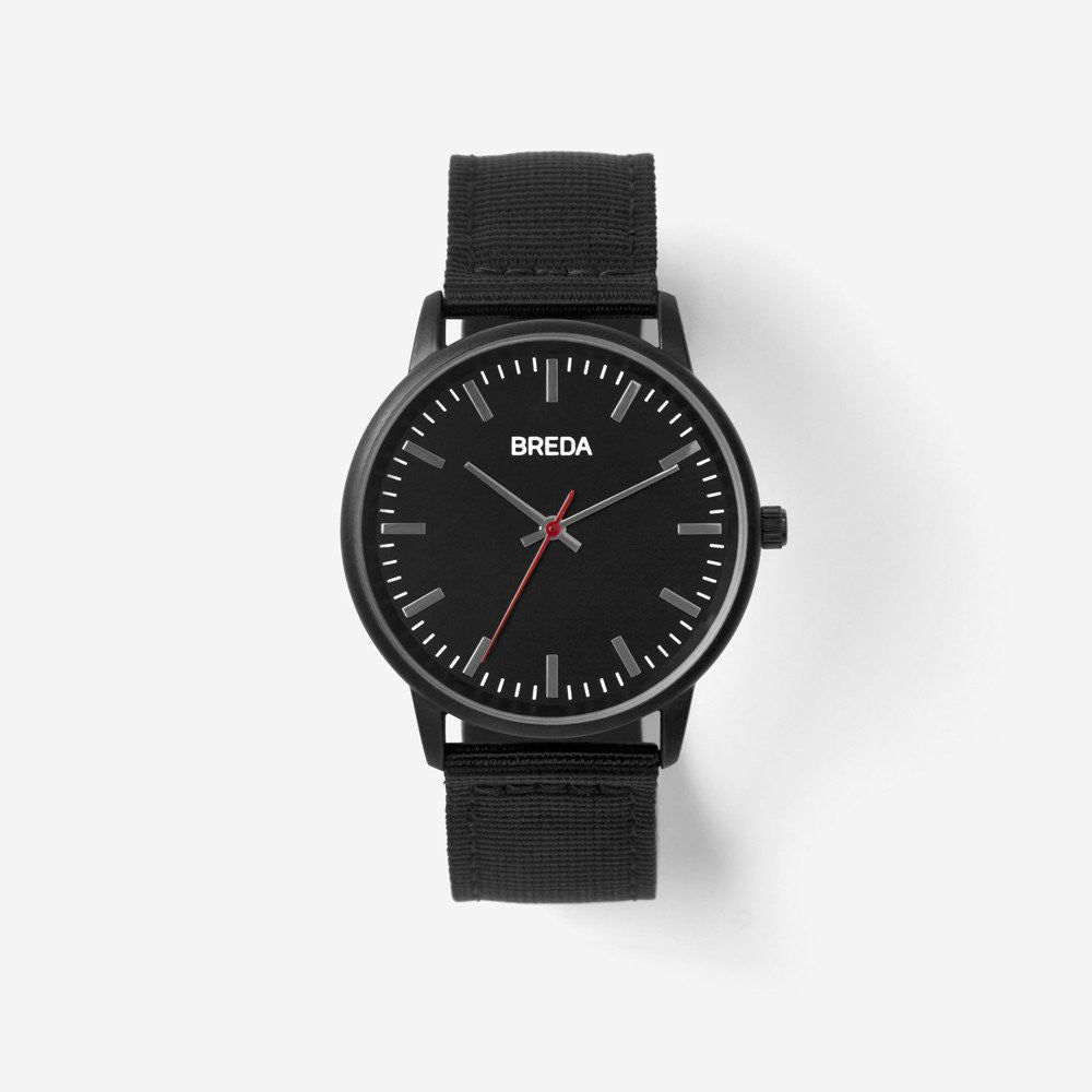 Breda Valor Watch (Black) - Breda Valor Watch (Black) -